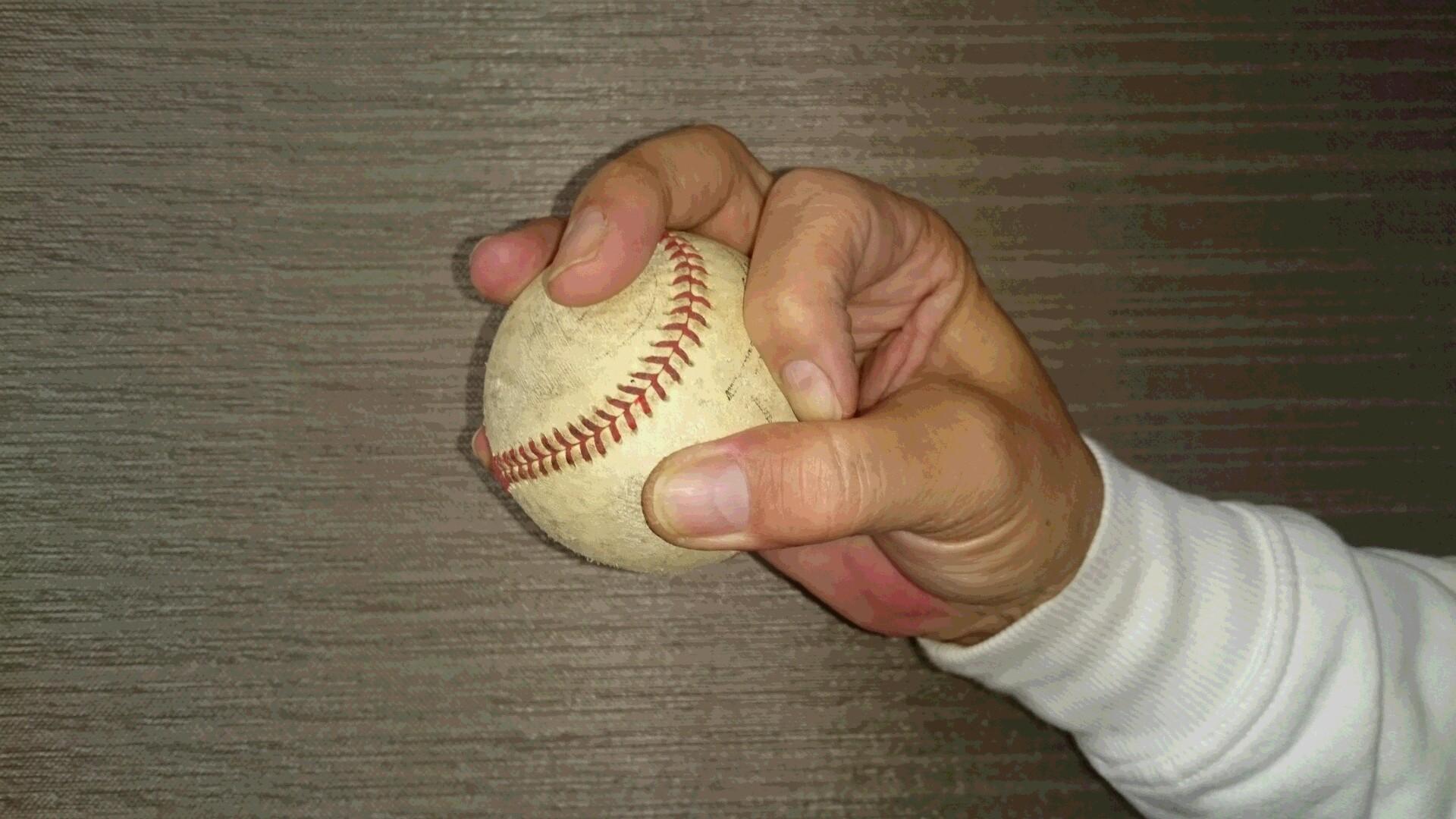 OKボールの握り