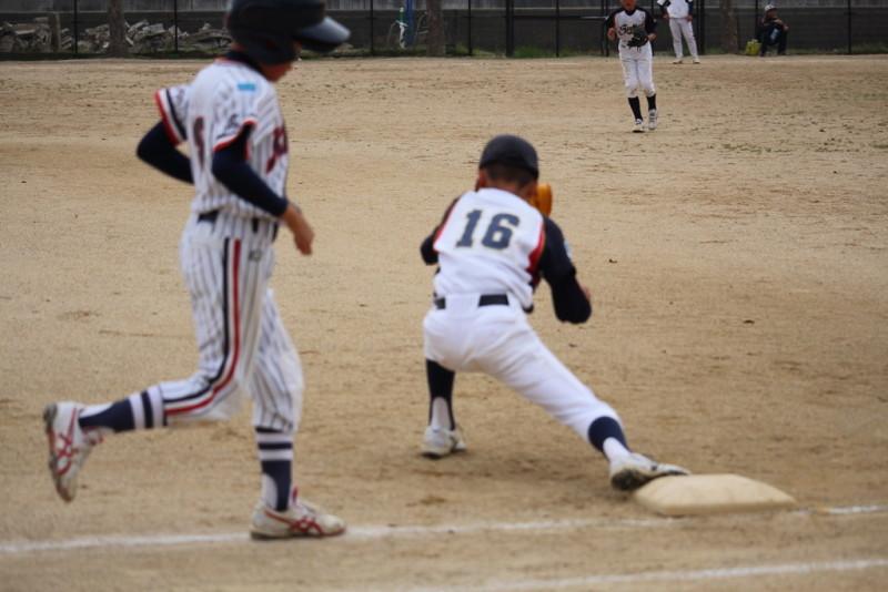 少年野球走塁練習