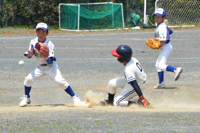 野球の理想のスライディング