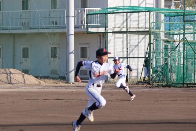 少年野球のベーラン練習法
