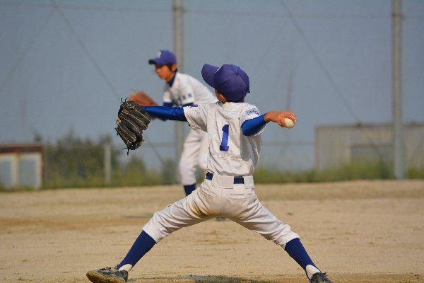野球少年の球速アップのために