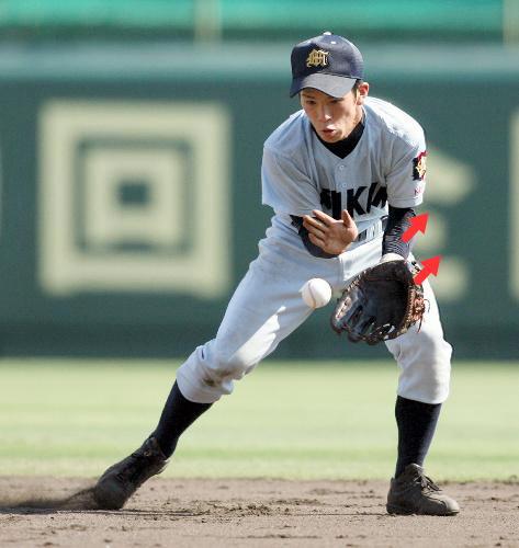 少年野球の正しいゴロ捕球の指導