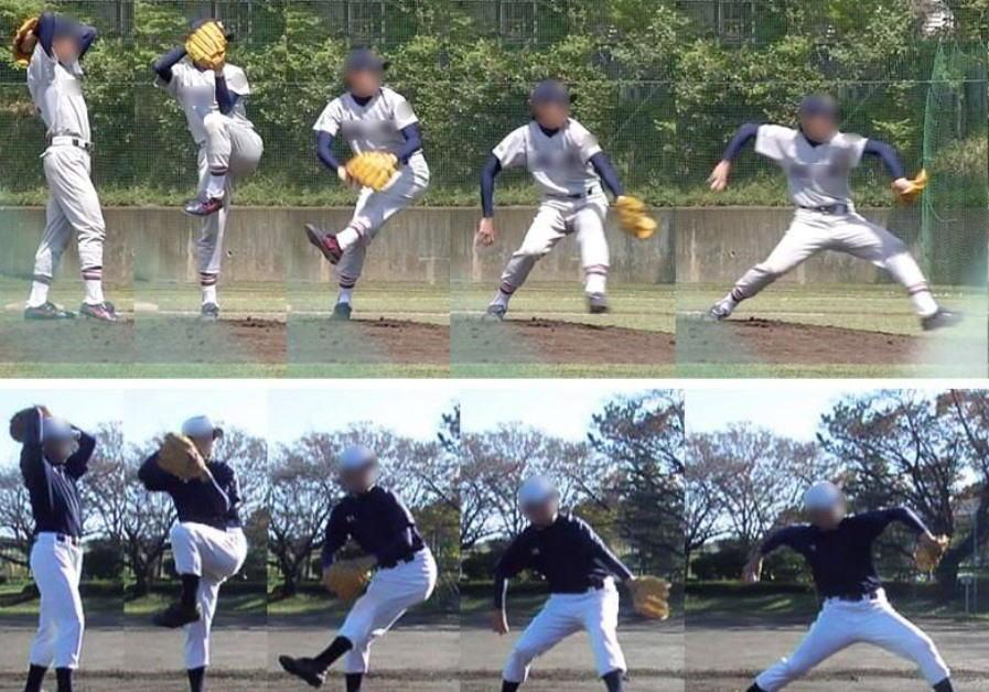 少年野球ピッチング練習では腰を落としすぎないこと