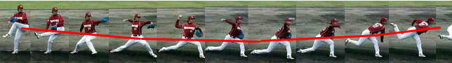 少年野球ピッチング練習はゆるやかな重心移動