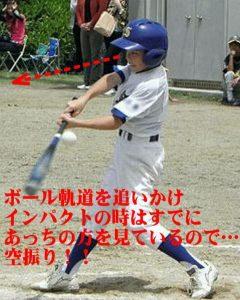 野球バッティング指導