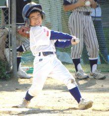 野球少年は空振り三振はOK