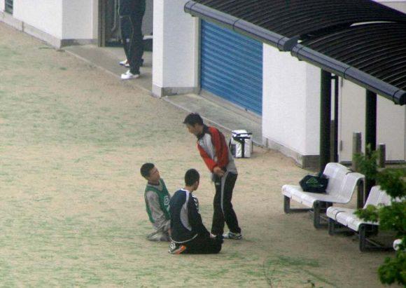 野球少年への体罰は絶対NG