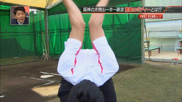 藤浪投手の肩関節の可動域も広い