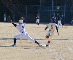 少年野球走塁タイム